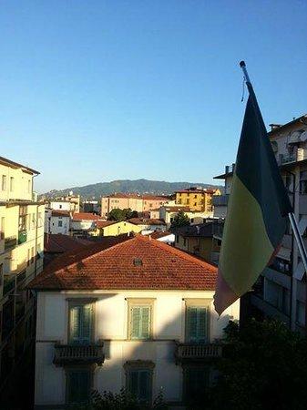 Hotel Brennero e Varsavia: vue du balcon