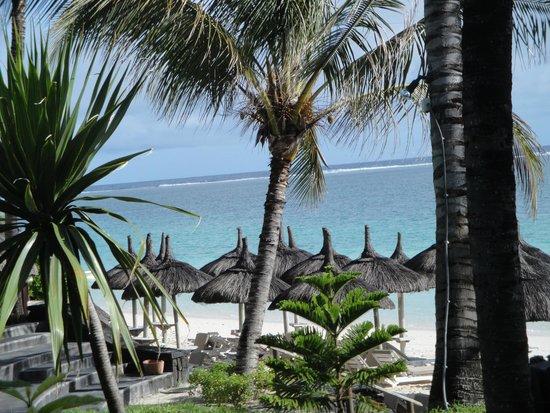Veranda Palmar Beach: Blick von unserer Terrasse