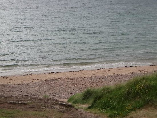 Sands Caravan & Camping Park: View of the beach from the tent