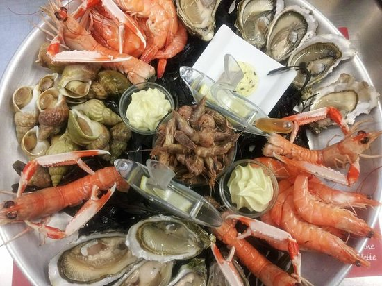 Plateau Fruits De Mer Picture Of La Table De Nicolas Boulogne