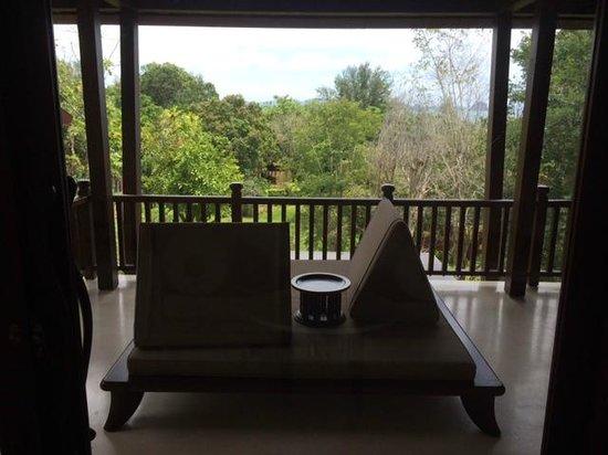 Phulay Bay, A Ritz-Carlton Reserve: Ocean Pavillion 57 - veranda