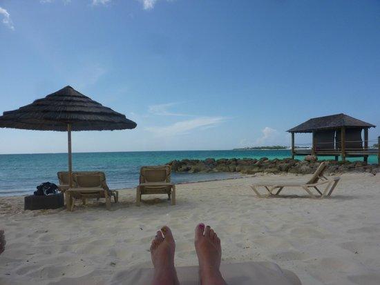 Sandals Royal Bahamian Spa Resort & Offshore Island: Beautiful beach