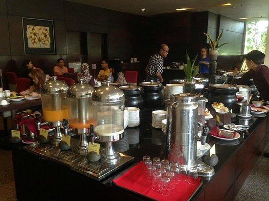 Grands I Hotel : Breakfast area