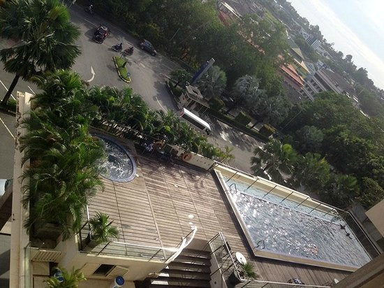 Grands I Hotel : View from the room - Hotel Pool
