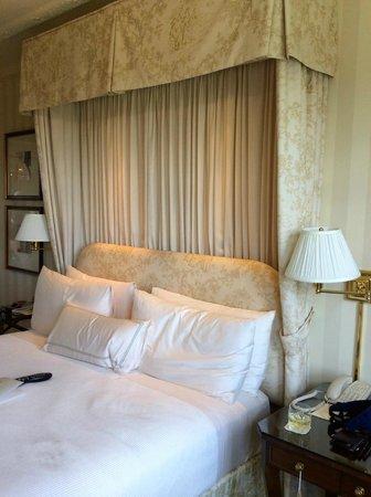 The Hay-Adams: Very Comfortable Bed