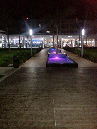 Hotel Riu Palace Jamaica: Just beautiful night and day!!