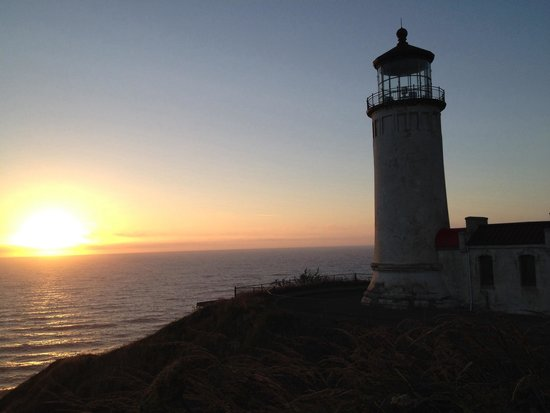 North Head Lighthouse: A North Head Sunset
