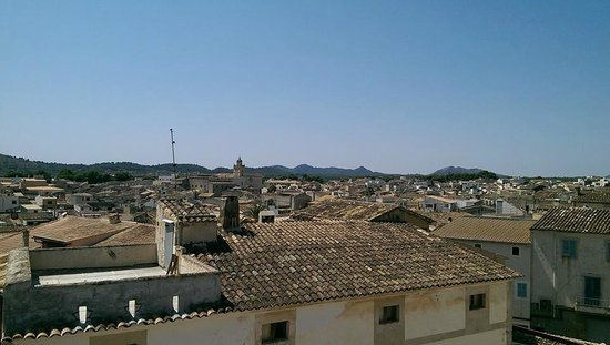 Jardi d'Arta Boutique-Hotel: View from roof terrace