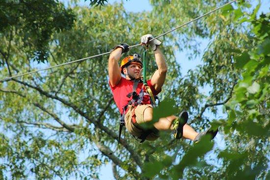 Chattooga Ridge Canopy Tours : Chattooga Ridge Canopy Tour