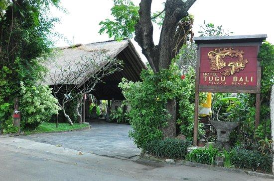 Hotel Tugu Bali : Entrance