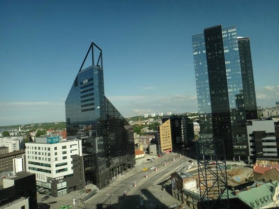 Radisson Blu Sky Hotel: Вид из номера
