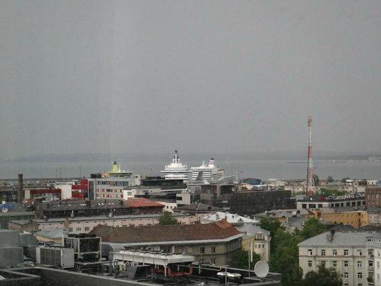 Radisson Blu Sky Hotel: Вид из номера на Терминал D