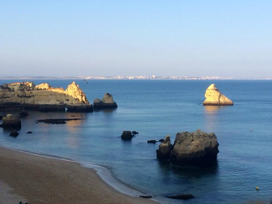 Carvi Beach Hotel Algarve: Praia Dona Ana from the room!