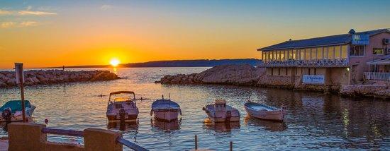 L'Epuisette : Coucher de soleil