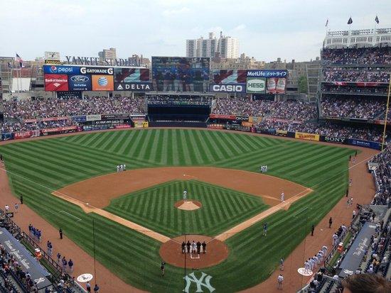 Yankee Stadium: View from 320B