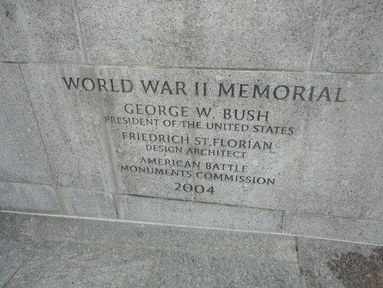 National World War II Memorial: Memorial