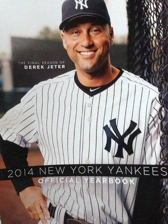 Yankee Stadium: Yearbook cover