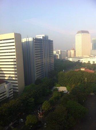 Century Park Hotel: view