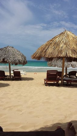 Excellence Punta Cana: View from us on the beach