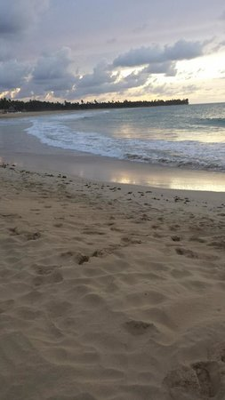 Excellence Punta Cana: View from of the beach at night