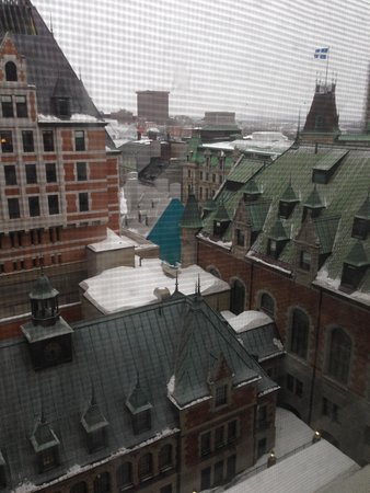 Fairmont Le Chateau Frontenac : The view from the room