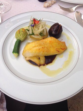 La Mirande : Une aiguillette de saint-pierre