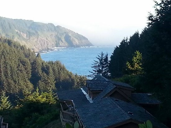 Whaleshead Beach Resort: On the deck!