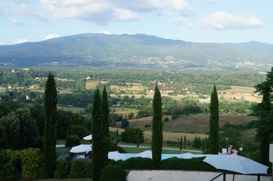 Villa Poggio Tre Lune : View from Room