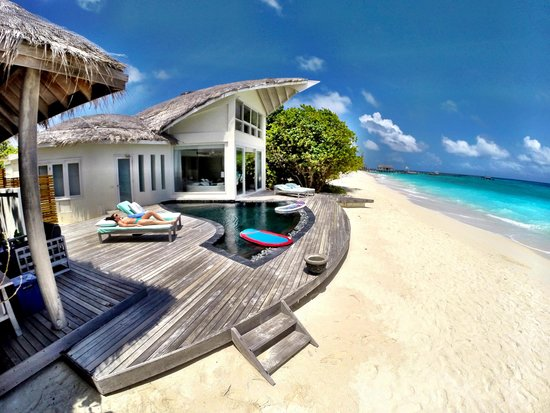 our beach villa with private pool picture of viceroy