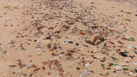 "Grotto Bay Beach Resort & Spa : Sea Glass beach  ""East Side"""