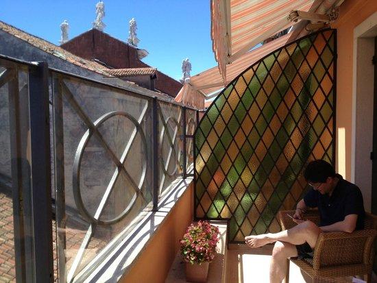 Hotel Firenze: Balcony