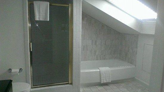 Artmore Hotel: upstairs bathroom