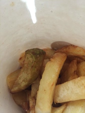 Hot Chip: green chips!!