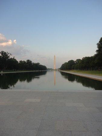 Lincoln Memorial: Espelho dagua