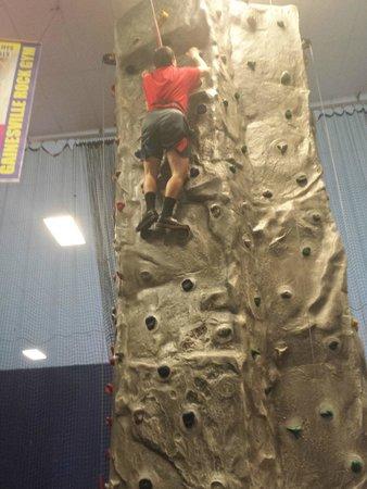 Skate Station FunWorks: Rock Climbing