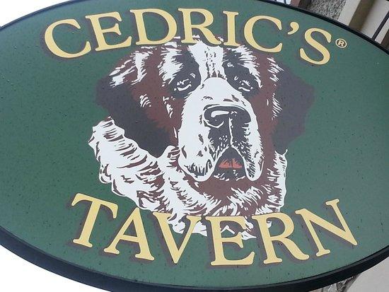 Cedric's Tavern - Biltmore Estate: Tavern Sign
