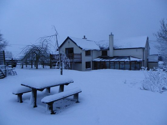 Headgate Farm Bed & Breakfast: Headgate in winter if you are very lucky!