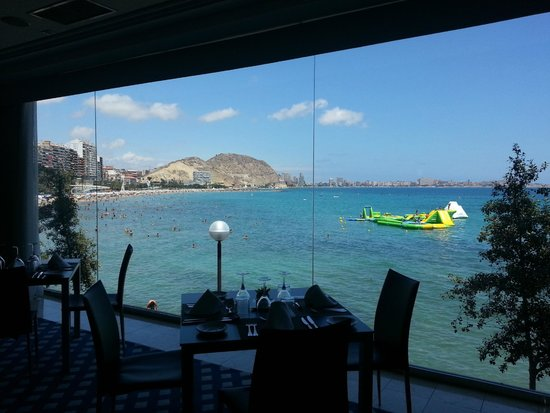 Melia Alicante: View from the restaurant