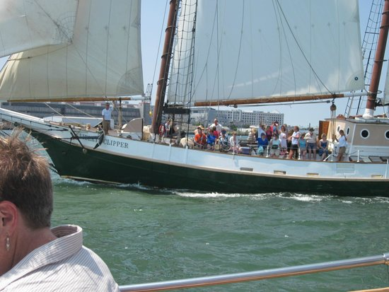 Liberty Fleet of Tall Ships: Another sailing ship in the harbor