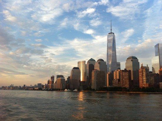 Bateaux New York: Vue sur le Skyline