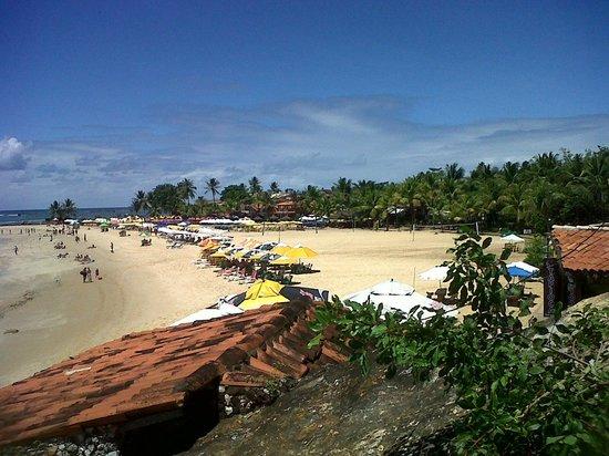 Villa das Pedras Pousada: vista del ingreso a la playa 2