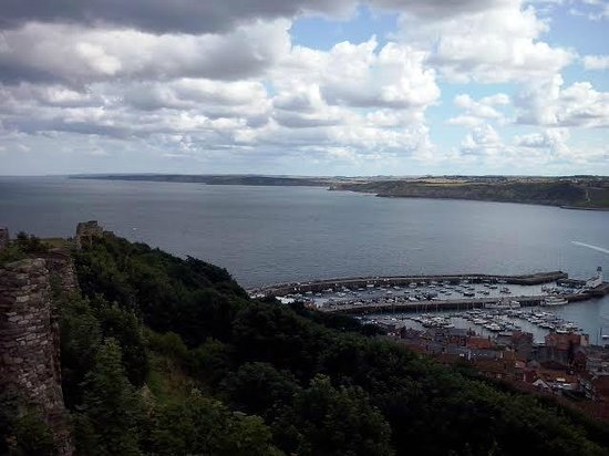 Scarborough Castle: View from the battlements