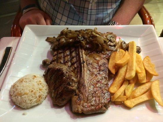Samdan Restaurant : T-bone steak