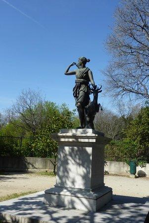 Parc Borély : Diane chasseresse