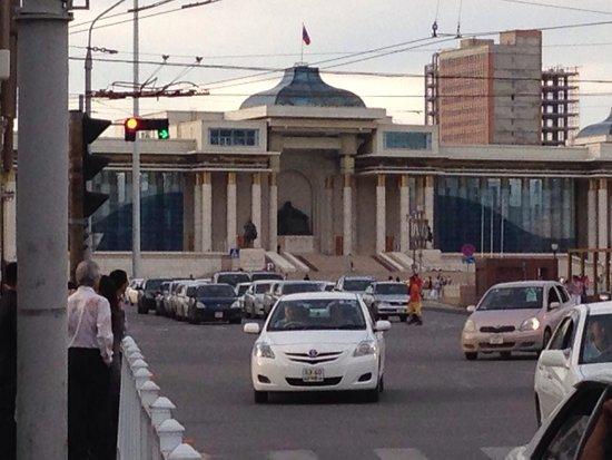 Genghis Khan Square: Peace Avenue view
