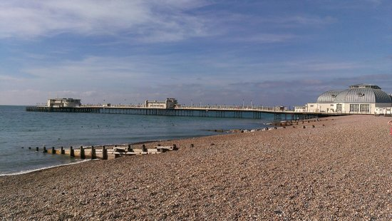 Worthing Pier is free to walk on