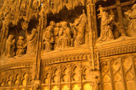 Cathédrale de Chartres : decorazioni del coro