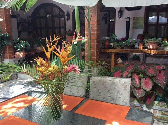 Hotel Casa Gabriela: Restaurante