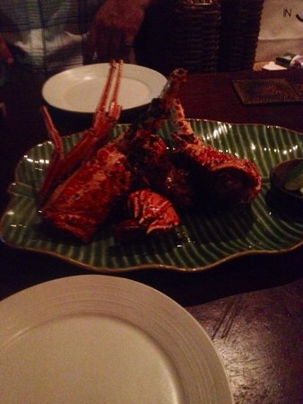 Sambal Shrimp: Peppered lobster