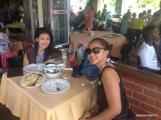 Orkid Ria Seafood Restaurant : yum yum lunch